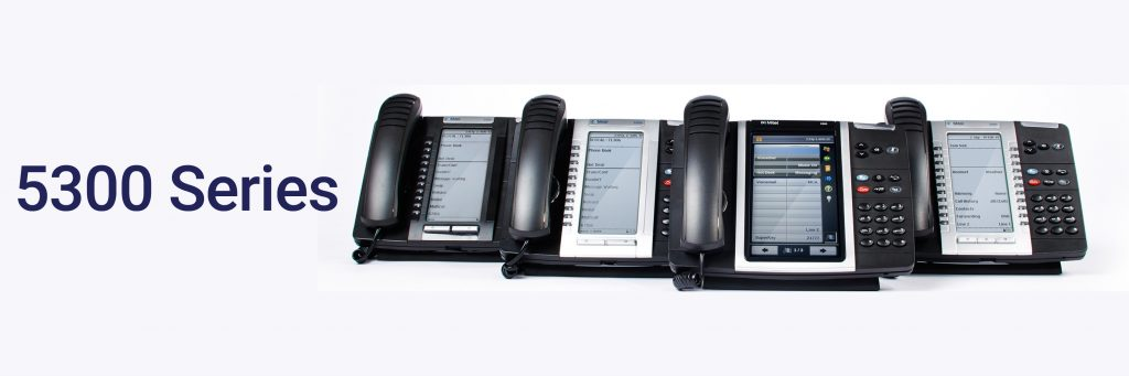 Mitel 5300 series handsets